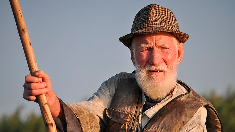 old fisherman portrait